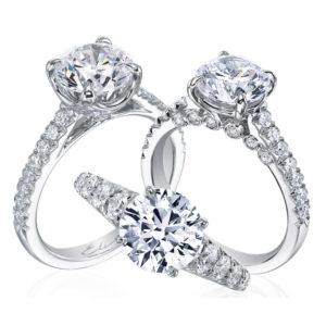 Designer Jewelry DePriest Robbins Eli Jewels Huntsville Alabama Diamond Engagement Rings