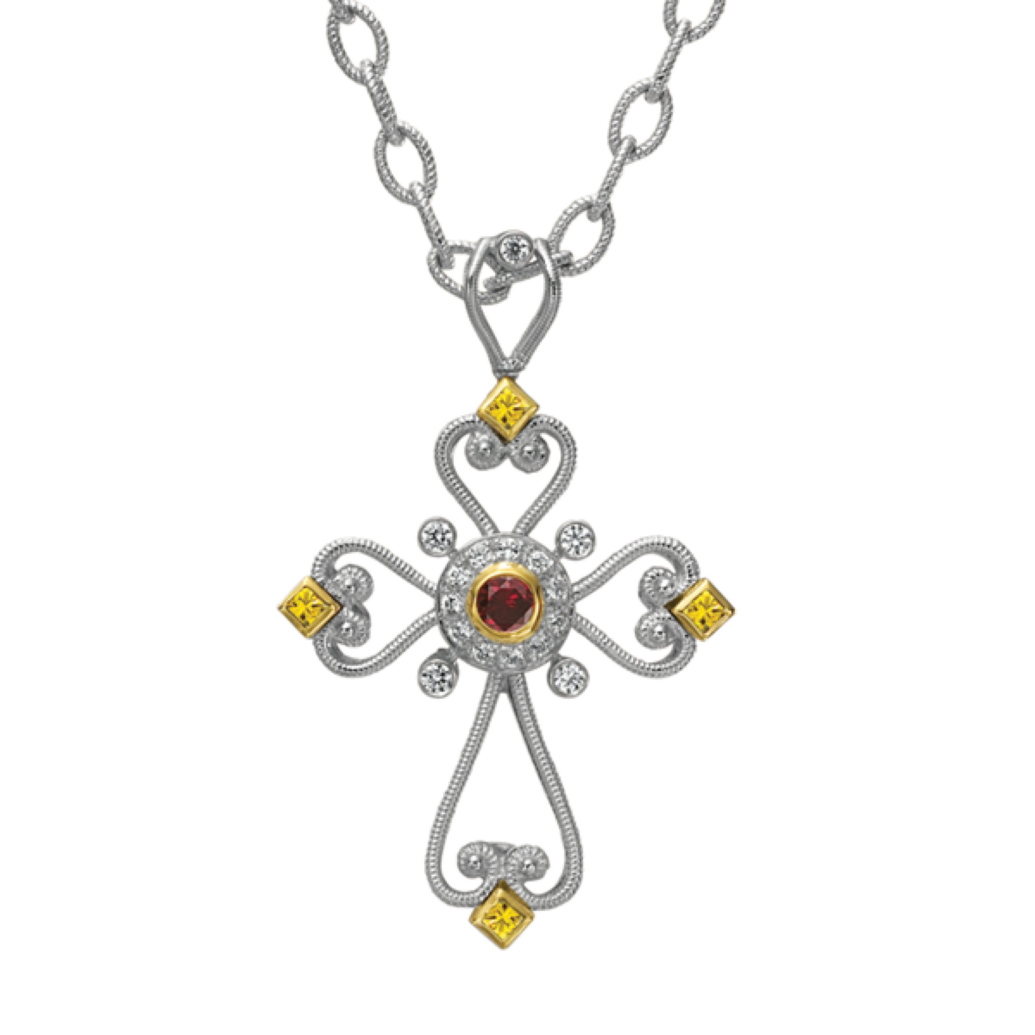 Designer Jewelry DePriest Robbins Eli Jewels Huntsville Alabama Crimson Cross