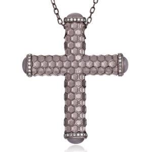 Designer Jewelry DePriest Robbins Eli Jewels Huntsville Alabama Honeycomb Cross
