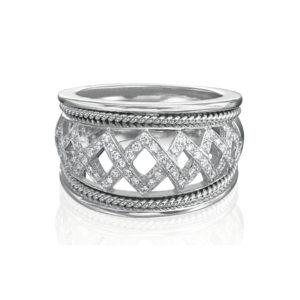 Designer Jewelry DePriest Robbins Eli Jewels Huntsville Alabama Diamond Band