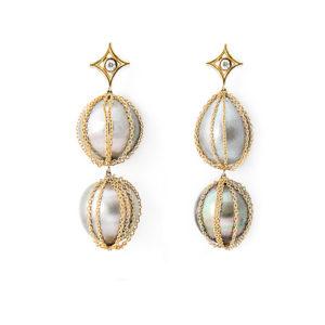 Designer Jewelry DePriest Robbins Jordan Alexander Huntsville Alabama Pearl Earrings